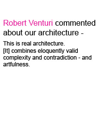 Robert Venturi about Zoka Zola Architecture