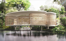 Zoka Zola, Rafflesia Zero Energy Home in tropical climate, green tropical home, exterior view